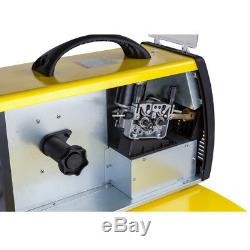 Schweißgerät inverter MIG MAG MMA ARC 200A IGBT 4 Rollen Drahtvorschub Draht18kg