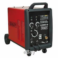 Sealey Professional MIG Welder 180Amp 230V with Binzel Euro Torch