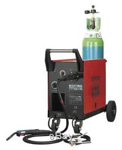 Sealey Professional Mighty Mig Welder Welding With Euro Torch Gas Gasless 170amp