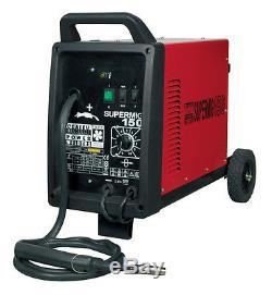 Sealey SUPERMIG150 Professional MIG Welder 150Amp Gas Welding 230V