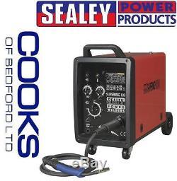 Sealey SUPERMIG180 Professional MIG Welder 180Amp 230V with Binzel Euro Torch