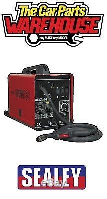 Sealey Supermig130 MiniMIG Welder 130Amp 230V Super Mig 130