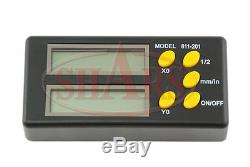 Shars Xy 2 Axis Digital Readout Display Scale Dro Set New $35.50 Off