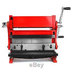 Shear Brake Roll Combination 3 in 1 Metal Work Machine 12 Sheet Metal Bending