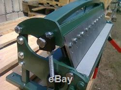 Sheet Metal Box & Pan Folder Bender Bending Machine 610 mm (24) / 1.0mm