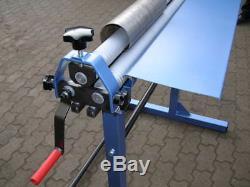 Sheet Metal Rolling Mill Bending Rolls Slip Rolls Rollers 1000mm/ 0.9mm capacity