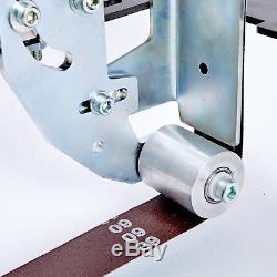 TR Maker Belt Grinder 2x72 Classice Silver Color 5/8