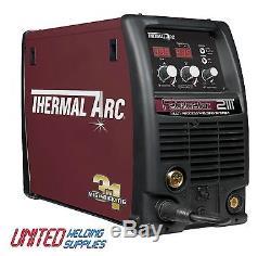 Thermal Arc Fabricator 211i Dual Voltage 110V & 240V MIG/TIG/ARC Welder