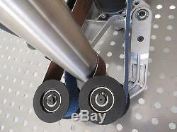 Universal Rohrbandschleifer Anbauset Rohrschleifer, Satiniermaschine