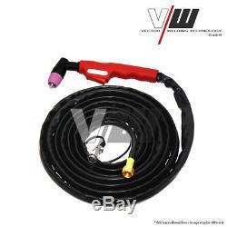 VECTOR Schweißgerät AC/DC WIG OW250 Puls M. Plasma ALU Inverter TIG MMA SET
