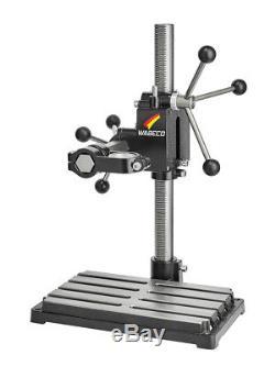 WABECO Bohrständer Fräsständer BF1240 Stahl Säule 500 mm Stahl Ausleger 350 mm