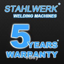 WELDER STAHLWERK AC/DC TIG 200 PULSE and PLASMA CUTTER S HF INVERTER ARC STICK
