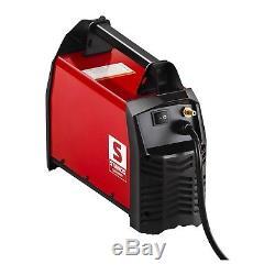 WIG Schweißgerät 200 Ampere IGBT Inverter TIG MMA DC E-Hand HF-Zündung 230 V