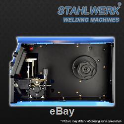 Welder STAHLWERK MIG MAG 200 with TIG & MMA SHIELDING GAS Welding Inverter