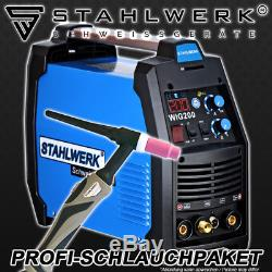 Welder Stahlwerk Tig 200 S Welding Machine Compact DC Hf Inverter Professional