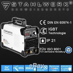 Welding Machine Stahlwerk Tig 200 St Igbt Professional DC Hf Inverter Welder
