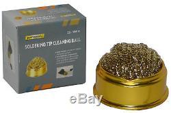 Weller WE1010NA WE1010 Digital Soldering Station Tips ETA ETB ETC ETD & Cleaner