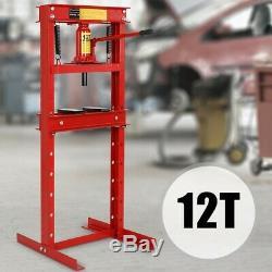 Werkstattpresse Hydraulikpresse Rahmenpresse Lagerpresse Dornpresse 6t 12t 20t