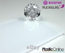 White Plastic Perspex Acrylic Kitchen Bathroom Splashback Like Glass