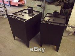 Workshop heater burns sawdust, wood and wood shavings. 8Kw