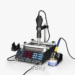 Yh-853aaa All In One Bga Hot Air Rework Soldering Iron Preheating Station 2018