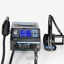 Yh-992da+ 4 In 1 Hot Air Rework Soldering Iron Station Fume Extractor Uk 2017