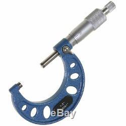 0-6 Pro Microphone Extérieur Micrométrique 0.0001 Outil De Précision Pour Machiniste Pointe En Carbure