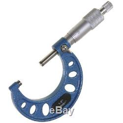 0-6 Set De Micromètre Extérieur Machinist Tool Carbide Nouveau