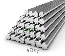 1000mm A2 Inox Barres Rondes En Acier Rod Métal Milling Soudage Metalworking