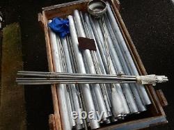 1000mmx63.5 MM Aluminium Round Bar Broyage Métal Travaillant 21/2 Divers