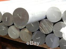 1000mmx63.5 MM Barre En Aluminium Ronde De Fraisage De Soudage L'usinage Des Métaux 21/2