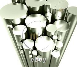 2 Barres Rondes En Aluminium De 50.80mm