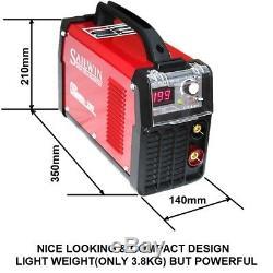 200 Ampères, 160amp Mma / Arc / Bâton / Ascenseur Tig DC Inverter Welder + Accessoires / Carry Case