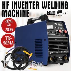 200amp Tig Arc Mma DC DCI Inverter Soudeuse 220 V 230 V 240 V Avec Hf Démarrer