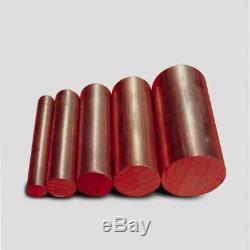 3 MM -25mm Dia. Barre Ronde Cuivre Rod Fraisage Travail Des Métaux Soudage 50-500mm Longueur