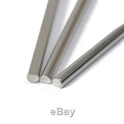 3 MM Dia. D-type Barre Ronde En Acier Inoxydable Rod Métal Fraisage De Soudage Des Métaux