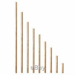 3 MM Diamètre Cuivre Barre Ronde Tige De Fraisage De Soudure En Métal De Travail 50-500mm Longueur