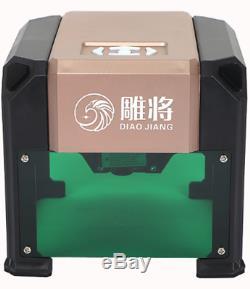 3000mw Laser Graviermaschine Usb Gravure Cnc Gravurmaschine Drucker Schneider