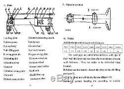 371276 Cintreuse Hydraulique Manuelle Résistante De Tube De Tuyau D'acier Avec Des Matrices 3