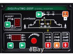 3in1 Schweißgerät Digi Pro Tmc-205p Wig Tig + E-hand + Plasmaschneider Onduleur