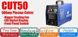 50a Plasma Cutter Digital Plasma Machine De Découpe Cut50 230v Et Accessoires 1-14mm