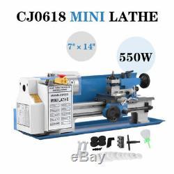 550w 7 X 14 Mini Tour En Métal Vitesse Variable 2500 Tr / Min De 0.75hp