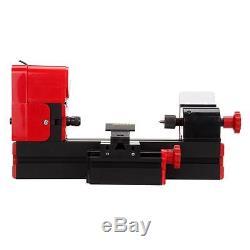 6 En 1 Mini Drehbank Drehmaschine Avec Schutzbrille Sechs Verschiedenen Funktions