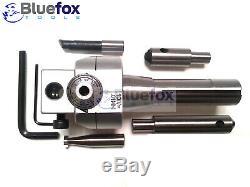 62mm Boring Head Set Avec Outils À Queue R8 Flycutter Travail Des Métaux Fraisage Soudage