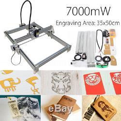 7000mw Cnc Laser Graviermaschine Drucker Graviergerät Gravure Gravur Diy Kit