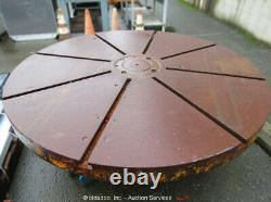 72 Diamètre Milling Face Plate Welding Work Shop Table Metalworking Bidadoo