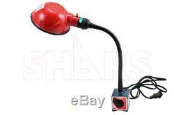 90 Jours Shars Work Lamp Sur Base Magnétique Bras Flexible 10.50 Nouveau