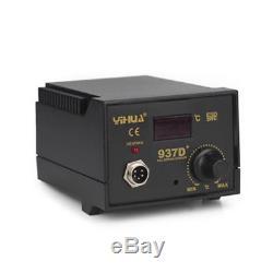 937d + Fer À Souder Électrique Smd Soudeur Tool Kit De Soudage Avec 5 Conseils 230v