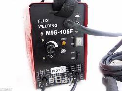 Alimentation Automatique 90 Mig Mig 100 Soudeur Flux Mig Machine Pas De Soudage Au Gaz 110v
