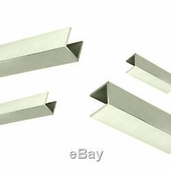Aluminium U Chaîne 1/2 X 1/2 X 1/16 De Fraisage / Soudage / Métal U Channel